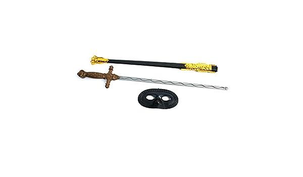 Accesorio de disfraz de espada y su funda y gafas de esquí para niño: Amazon.es: Juguetes y juegos