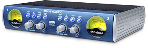 (PreSonus BlueTube DP V2 2-channel Mic/Instrument Tube Preamp)