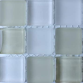 Black /& White Stained Glass Sheets and Mosaic Tiles 8x6