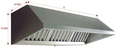 MUNDOFAN Campana Mural IC Exclusive con Ventilador 9/9 1/2CV ...