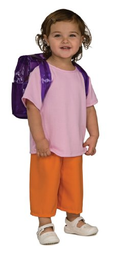 Rubies Dora The Explorer Deluxe Child Costume, Small (Dora The Explorer Costumes)