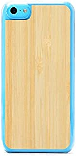 product image for CARVED Wood Clear Case for iPhone 5C - Natural Bamboo (5C-CC1A)