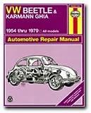 img - for VW Beetle & Karmann Ghia 1954 through 1979 All Models (Haynes Repair Manual) book / textbook / text book
