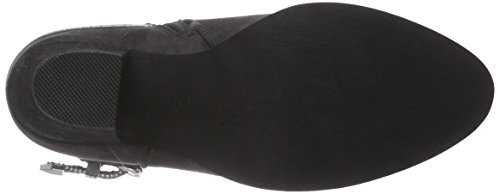 La Strada Graue Suède-Look Stiefeletten - botas de material sintético mujer gris - Grau (2204 - micro white)