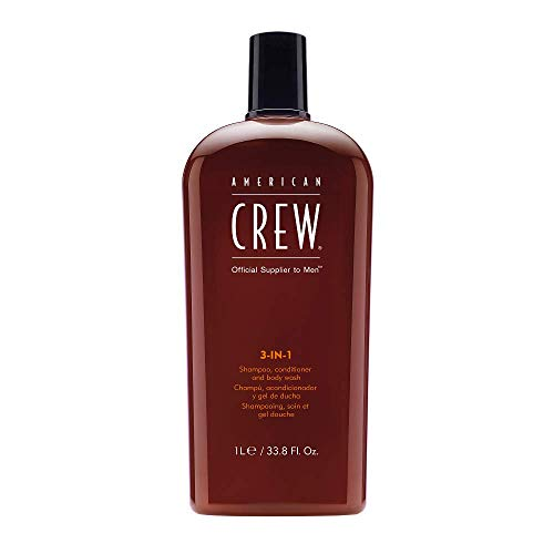 American Crew 3-in-1 Shampoo, Conditioner, and Body Wash, 33.8 Fl. Oz. ()