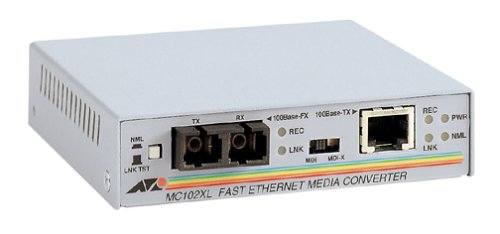 Allied Telesyn AT-MC102XL Fast Ethernet Media Converter by Allied Telesis