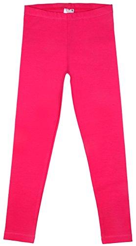 Back From Bali Little Girls Leggings Hot Pink XLarge