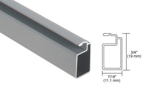 crl gray finish 34 x 716 extruded aluminum screen frame 12 ft window screens amazoncom