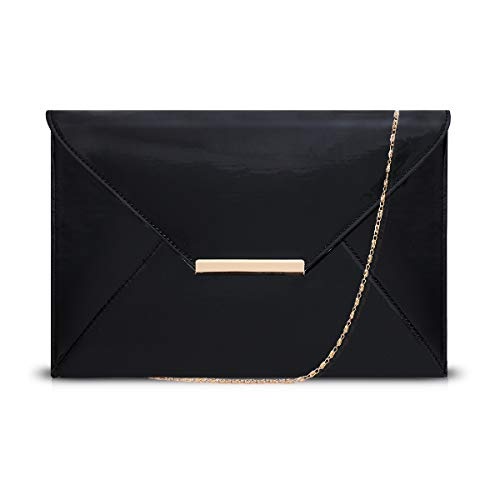 Leather Jessica 60s Evening Elegant Gold Fabric Inside Hook Tan Purse Handbags with Wrist Strap Super Light Fabric BALCK Gold Clutch