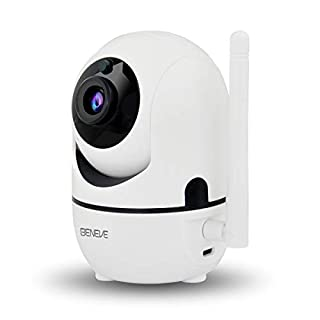 Wireless Security Camera Pet Camera Build-in Free 16G SD Card,BENEVE 2MP 1080P WiFi Camera Indoor,Baby Monitor,Two-Way Audio,Remote Access,Motion Tracker,Activity Alert,Cloud Storage(Update Version)
