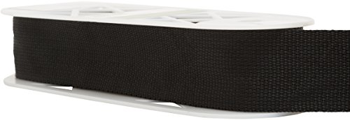 Wright Products Polyester Webbing 2'' Wide 10 Yards-Black (186 1002-031) by Wright Products