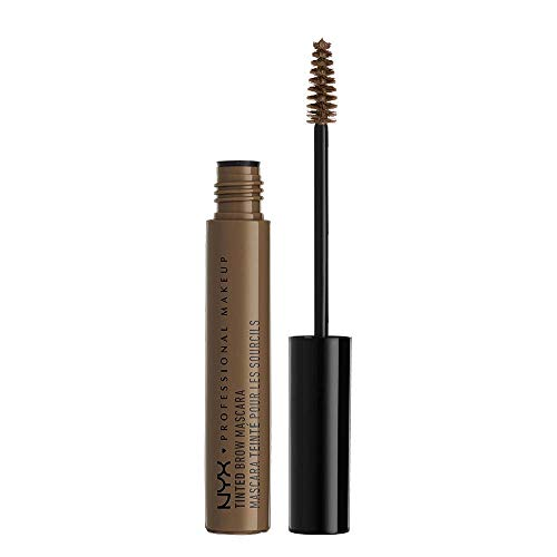 (NYX PROFESSIONAL MAKEUP Tinted Brow Mascara, Brunette, 0.22 Fluid Ounce)