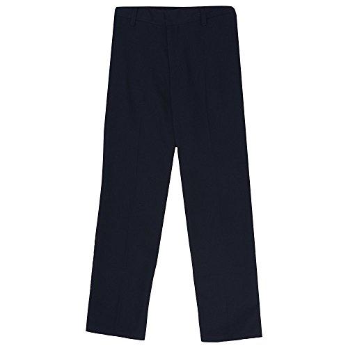 French Toast Little Boys' Straight Leg All Season Pant, Navy, (Straight Leg Uniform)