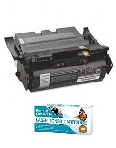 Label Applications 21000 Yield - Ink Now Compatible Black Toner Replacement for Lexmark T640 T640DN T640DTN T640N T640TN T642 T642DN T642DTN T642N T642TN T644 T644DN T644DTN T644N T644TN Label Applications 21000 Page Yield