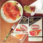 Authentic Prosciutto di Parma DOP by Beretta - Pre-Sliced (4 ounce)