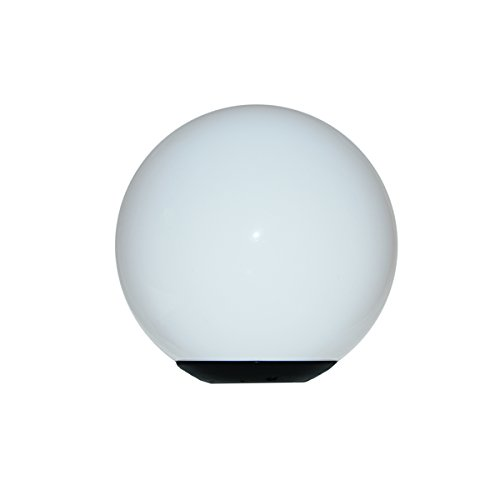 Polycarbonate Light Globes - Polymer Products 1319-04312 Incandescent Black Post Top Fitter for 3
