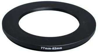 objetivo de 52/mm/ /Filtro de rosca para objetivo a rosca de filtro Fotodiox metal Step Down anillo de adaptador de filtro /62/mm/ anodizado negro metal 52/mm/ /62/mm
