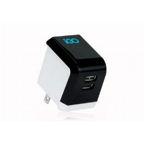 iGo MicroJuice Wall Charger for iPad, iPhone & (Igo Adapter)
