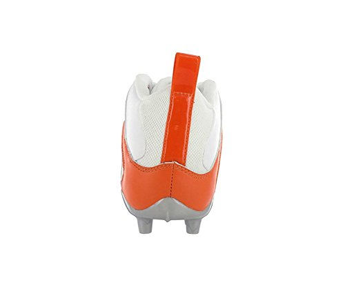 Reebok Pro Alla Ut En Mid Mp Mens Fotboll Knapar White & Orange Vit & Orange