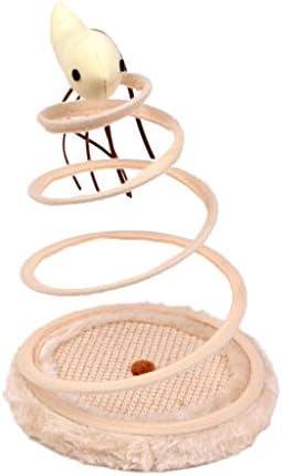 Keepart - Bandeja de Resorte en Espiral para Gatos: Amazon.es: Productos para mascotas