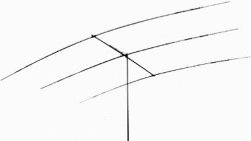 Hy-Gain TH-3JRS Yagi antenna, 10/15/20m, 3 element