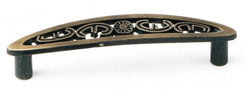 Laurey 79105 Celebration Classic 3-Inch Pull, Antique Brass