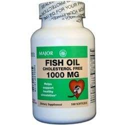 3 pack major omega 3 fish oil cholesterol for Is fish oil good for cholesterol