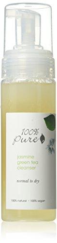 (100% Pure Jasmine Green Tea Cleanser, 6.0 Fluid Ounce)