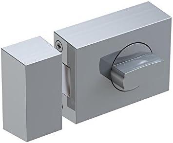 0208/KS 500/eckig Felgenschloss ohne T/ür Guard BASI 1303 Edelstahl Silber R1301-0208