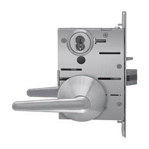 Stanley Best SPSLMLLT16F630LH Patient Safety Mortise Lever Stainless Steel Bathroom Privacy Function Satin