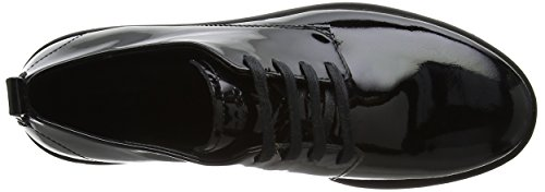 Bella Oxfords Shoes Patent Black Lace Women's ECCO EPwx0qnU1x