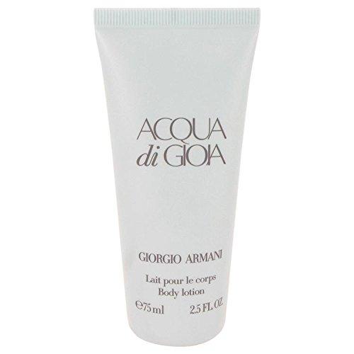 (Acqua Di Gioia by Giorgio Armani Body Lotion 2.5 oz for Women - 100% Authentic )