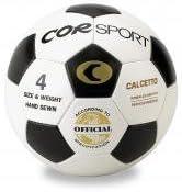 Balón fútbol sala corsport tamaño 4 rebote reducido cuero sintético ...