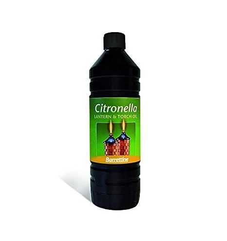 High Quality Citronella Lamp And Torch Oil   Barrettine   1L