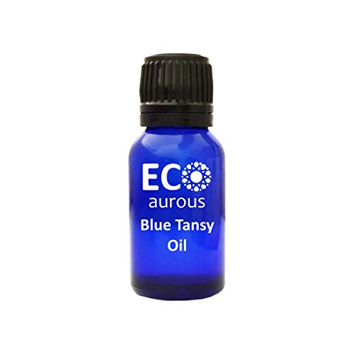Blue Tansy Oil 100% Natural, Organic, Vegan & Cruelty Free Blue Tansy Essential Oil By Eco Aurous (5000 ml) With MSDS & COA ()