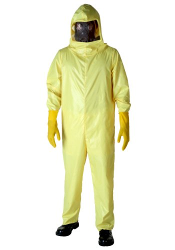[Fun Costumes Hazmat Costume Standard] (Breaking Bad Jesse Costumes)