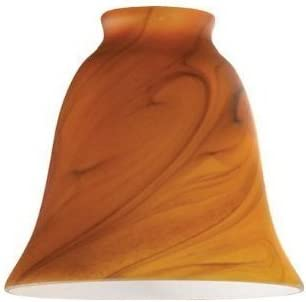 2-1 4 Umber Glass Shade Pack of 2