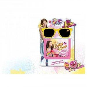Disney Soy Luna Gift SET Sunglasses Gafas de Sol + Wallet Enjoy Love - Luna Sunglasses