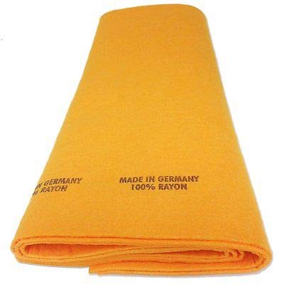 Chamois Cloth from Germany. Super Shammy Absorbent Dish Towels and Shammie Cleaning Rags. (12)