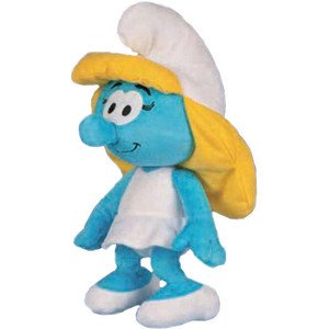 Smurfette Smurf Plush doll toy (8.5 Inches Tall) by The Smurfs
