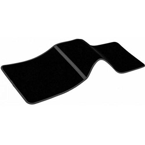 Custom Accessories 78976 Carpet Interior Runner Floor Mat, Black, 1-Piece (Floor Black Rear 1 Piece)