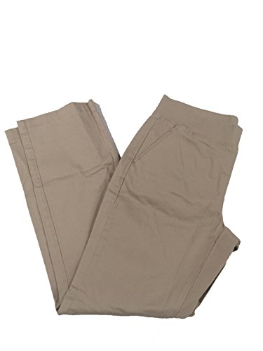 lee natural fit pull on pants - 1