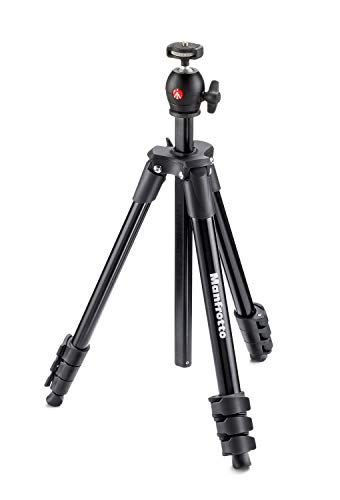 Manfrotto Compact Light Aluminium Tripod with Ball Head - Black