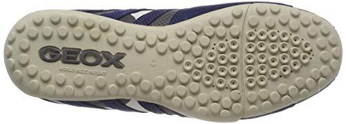 Hombre Geox C0665 Para K Uomo navy Zapatillas Grey Snake vBvXHx