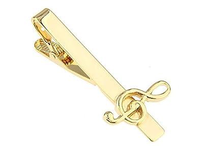 Teroon Alfiler de Corbata/Pasador de corbata chapado en oro Clave ...