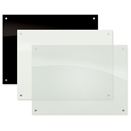 Best-Rite 83952 Enlighten Glass Dry Erase Whiteboard, Frosted Pearl 1/8 inch Tempered Glass, 4 x 6 Feet by Best-Rite (Image #2)