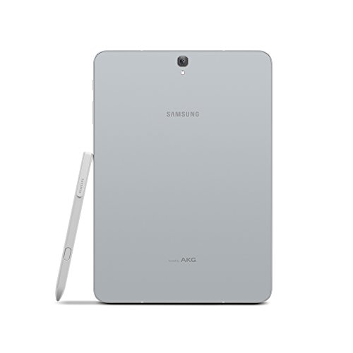 Large Product Image of Samsung Galaxy Tab S3 9.7-Inch, 32GB Tablet (Silver, SM-T820NZSAXAR)