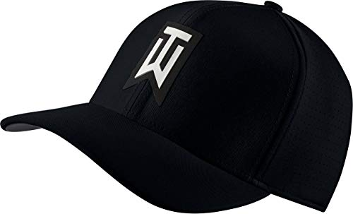 Tiger Golf Hat - Nike TW AeroBill Classic 99 Performance Golf Cap 2018 Black/Anthracite/White Large/X-Large