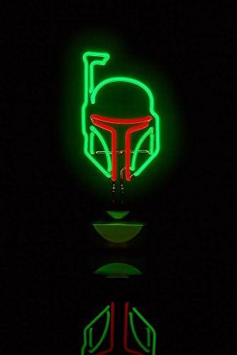 Star Wars Boba Fett Neon Light Beleuchtung