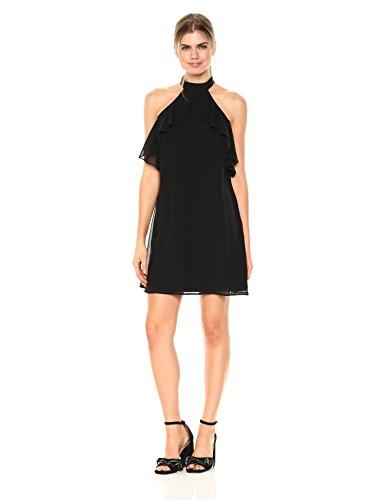 Neck Chiffon Women Dresses - 7
